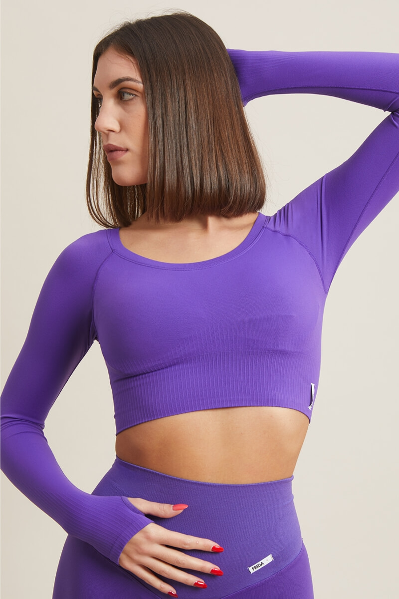 Bolero Gym Fashion Viola Royal
